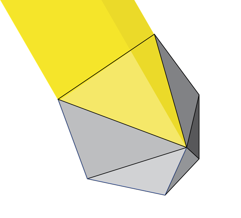Dodecahedron light