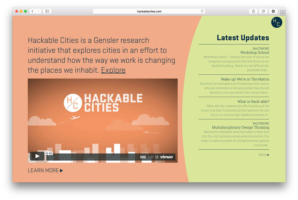 Hackable Cities' clear and simple approach to storytelling.