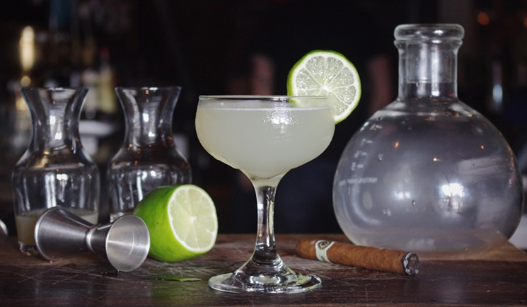 dallas observer.this daiquiri comes with a twist: cigar smoke-infused rum
