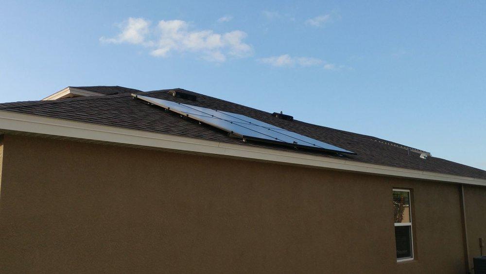 A Clean and Sleek Installation by Solar Tech Elec LLC.