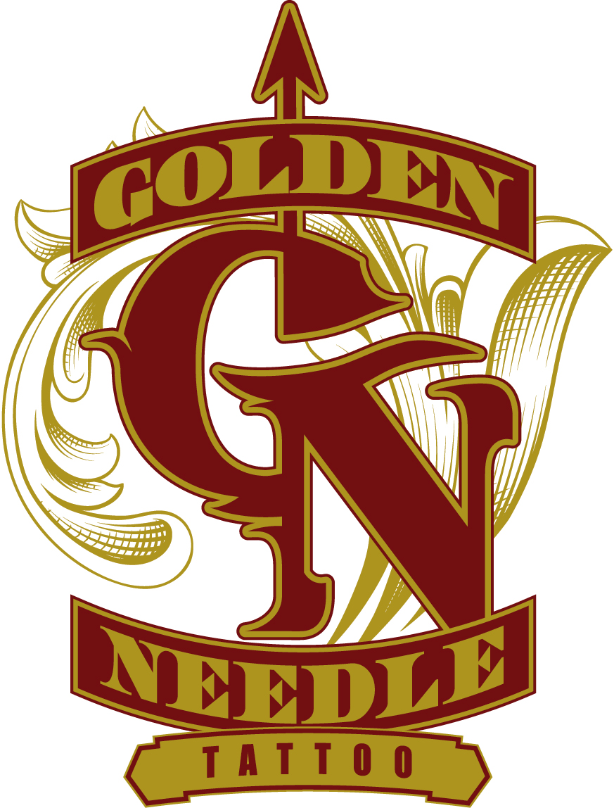 golden needle tattoo