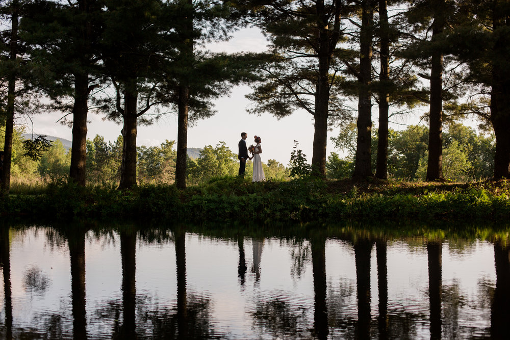 Backyard Vermont Wedding