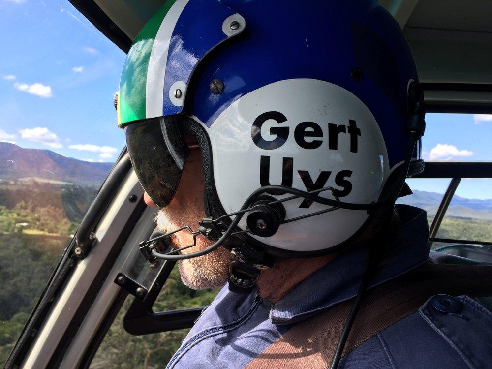 Gert Uys, Pilot Extraordinare
