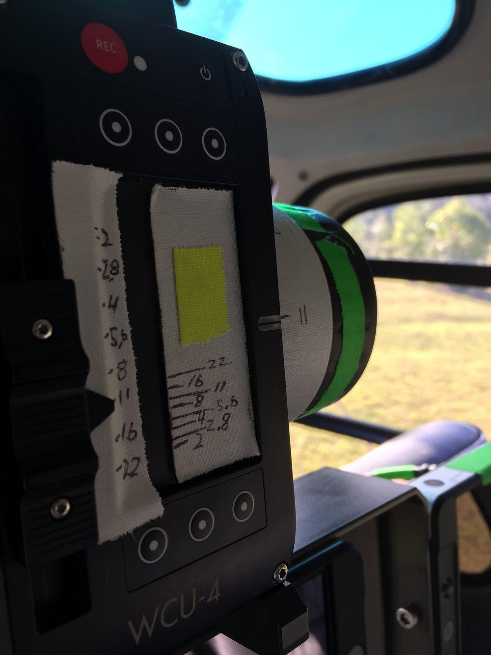 3-Camera Iris Control