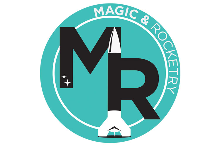Magic & Rocketry - The name Magic & Rocketry? I went to summer camp as a kid and then worked there as a counselor. I used to teach the art of magic in the morning and a model rockets program in the afternoon. I always loved seeing my name in the camp catalog as Brett Bryan : Magic & Rocketry.