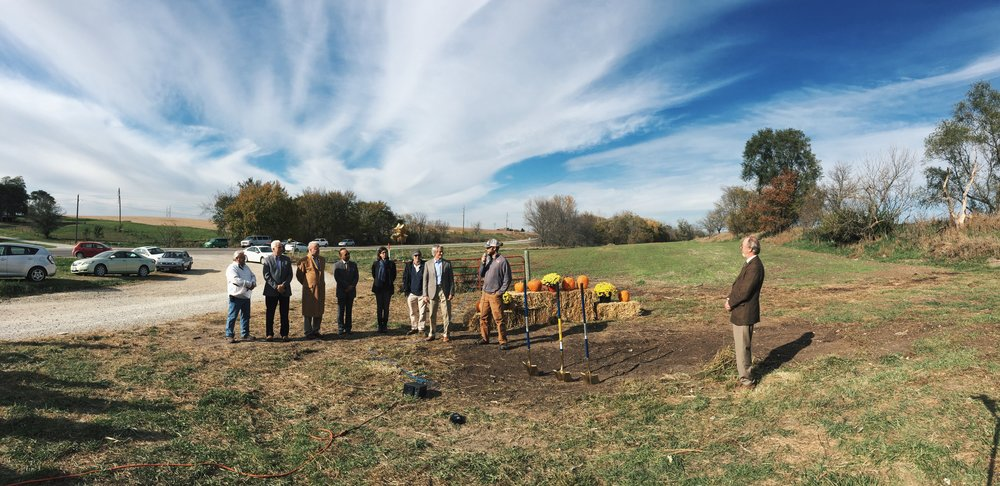 Leading members of the community shared their enthusiasm for the ROA program during a public groundbreaking ceremony in October.