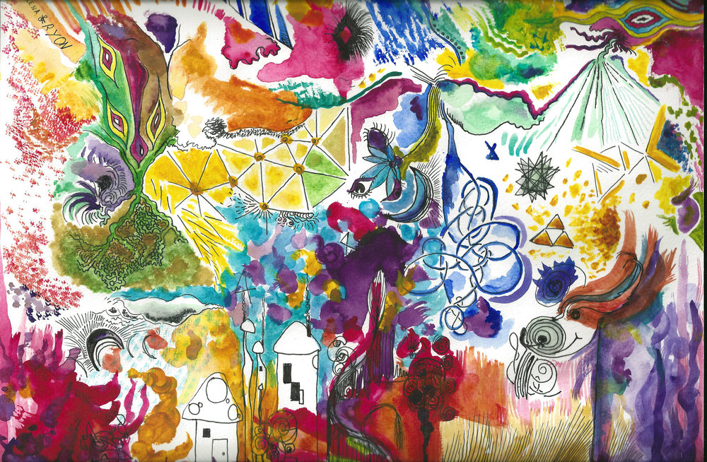 Psychedelic Dreams - Collaboration with Ryon Johnson