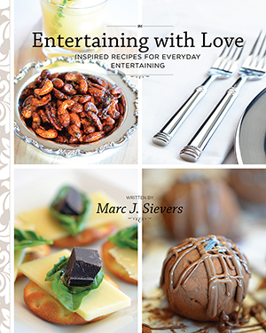 Entertaining with Love - Front Cover