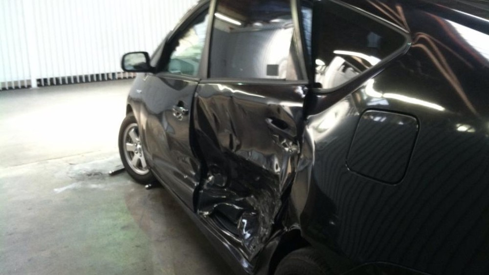 Uber, Lyft and other ride-hailing service drivers are now covered by the company's liability insurance at all times when they're on duty — but could still be saddled with costly collision damages. (Courtesy Sarah, a Lyft driver)