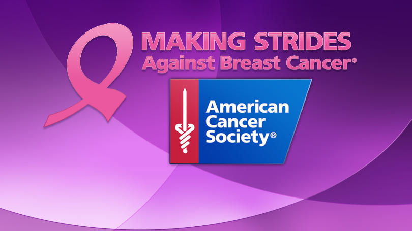 Making Strides - Against Breast Cancer.