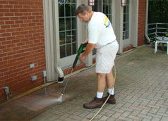 Power washing Austin at competitive rates!