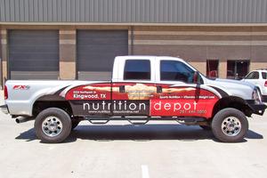 Truck Wraps Decals Saifee Signs Houston Tx
