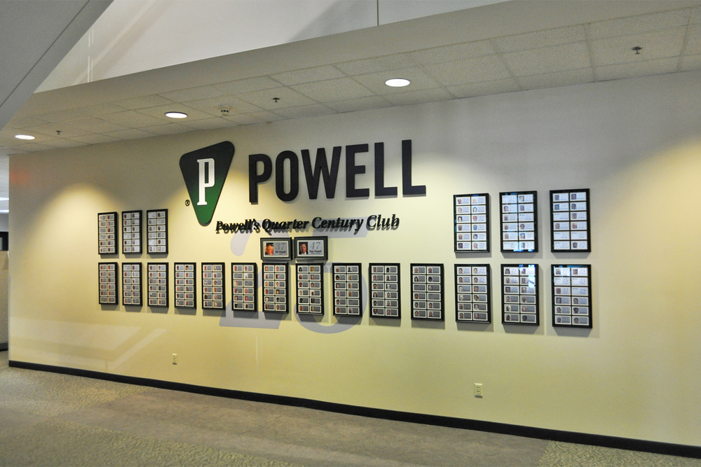 5 Powell Electric Recognition Wall Saifee Signs Houston Tx