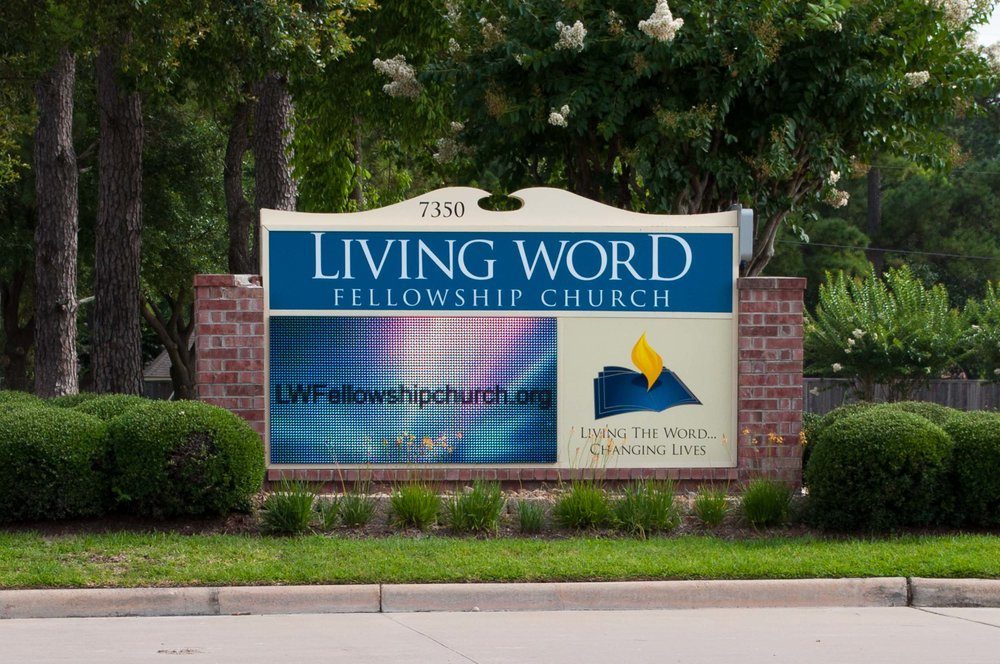 Living Word - LED Sign