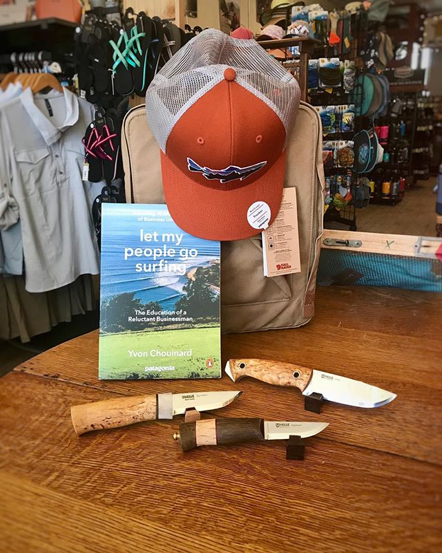 Father's Day is right around the corner and we have you covered! We'll post a few great Father's Day gift ideas!  This book by Yvon Chouinard is amazing! Written about his experience starting Patagonia, and how he runs his company.  Also the knives! These tried and true Helle knives are a perfect gift!  #patagonia #goodreads #fathersday  #giftideas #giftsforhim #decorah #hatchery @patagonia