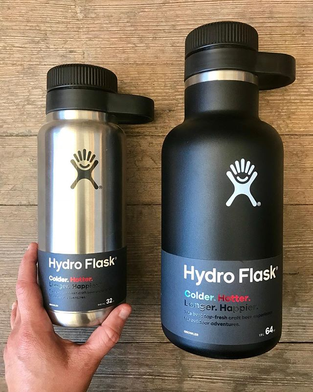 Father's Day is tomorrow! Here's one more idea The Hatchery has for you! These insulated hydro growlers will keep your beer (and other beverages) cold for up to 24 hours!! Even on hot days like today! ☀️ 🍻 #giftideas #giftsforhim #hatchyouradventure #hydroflask #freefromlukewarm #fathersdaygifts #fathersday #decorah #hatchery