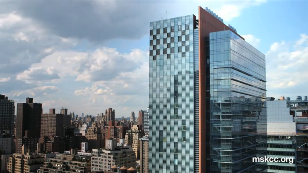 Memorial Sloan Kettering News Highlights    Client:  Memorial Sloan Kettering Cancer Center  Role:  Producer, videographer (interviews) and editor   Purpose:  For MSK website visitors, and ad agency/branding sizzle reel