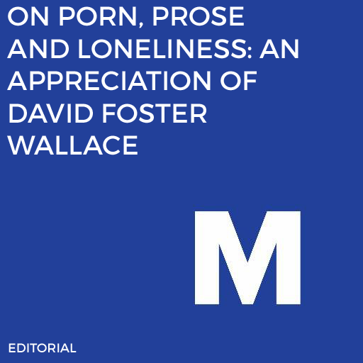 I wrote a series of essays about David Foster Wallace for the 20th anniversary of Infinite Jest's release.