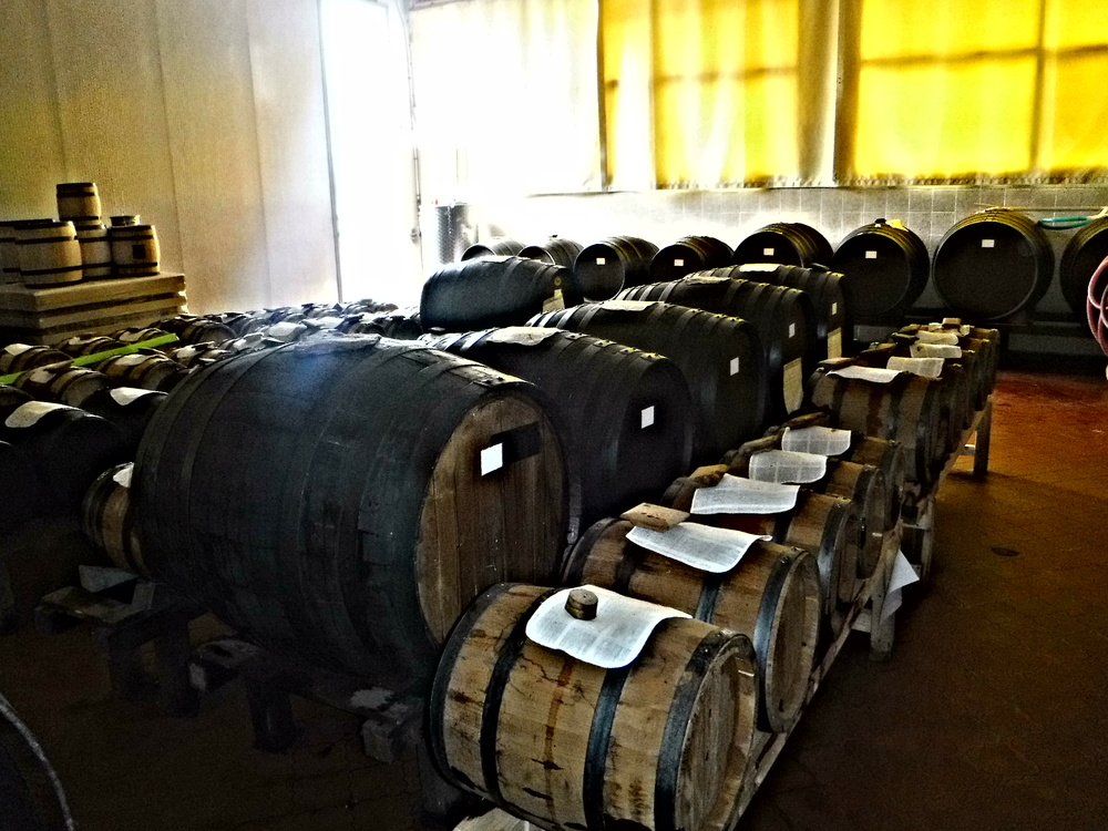 4. Aging casks crafted from indigenous woods  add fragrant aromas.JPG