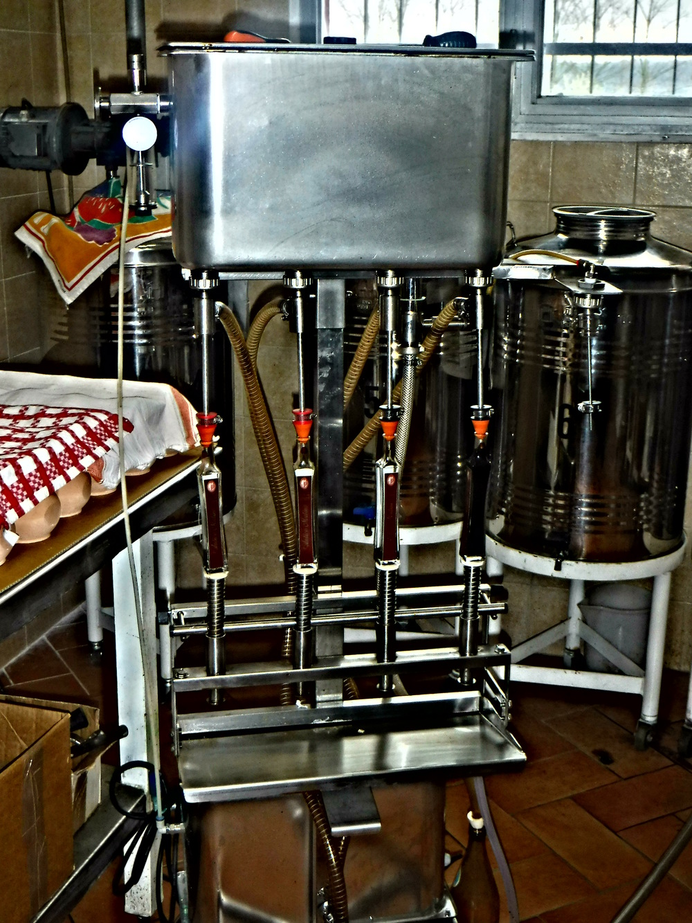 14. Filling 40 mL bottles.JPG