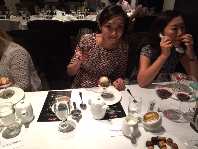 28. Lovely Amy Yum pairs Villa Gabriella organic Riserva DOCG wine & vanilla ice cream with Villa Gabriella organic, aged balsamic vinegar .JPG