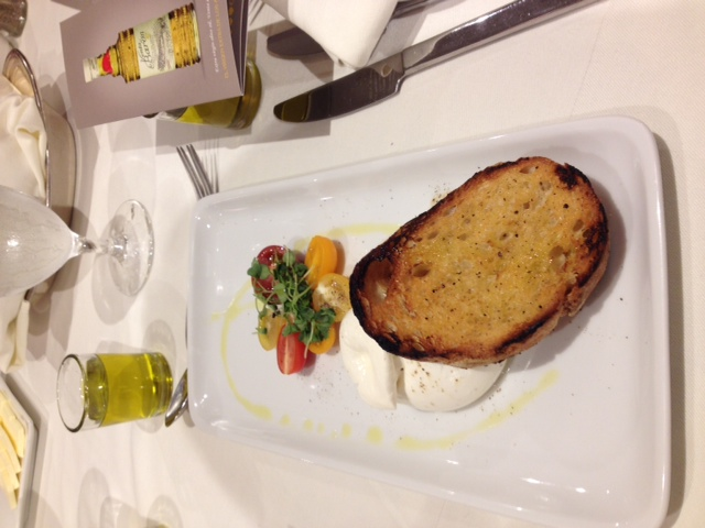 8. Perfect power pair; tomatos &  buffalo mozzarella finished with extra virgin olive oil.jpeg