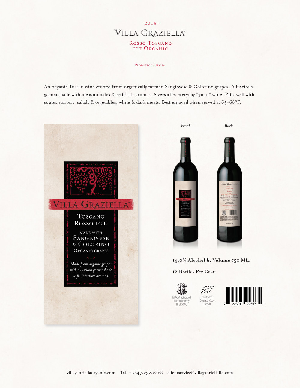 -2014- Toscano Rosso IGT Tasting Notes