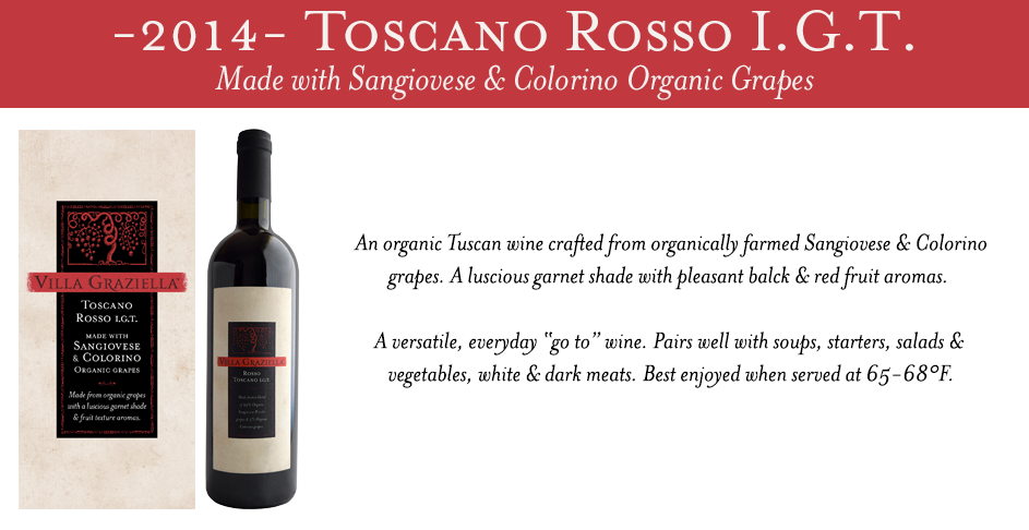 -2014- Toscano Rosso IGT