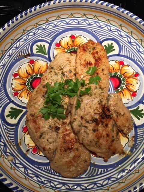 Lemon & Sage Chicken- recipe  here !