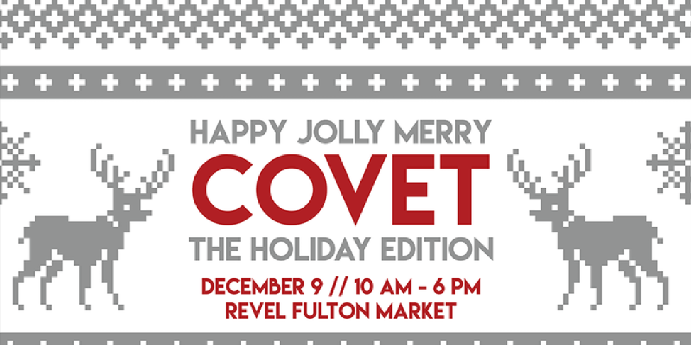 Sunday, December 9th10am-6pm - Holiday Shopping doesn't get better than this! Join Villa Graziella Organic & Chicago Woman magazine for the Covet Market Holiday Edition at Revel Futon Market. Come shop, eat & have fun. Sip Sunday cocktails, grab lunch, visit the beauty bar, stop by the kids activities area or relax in the design lounge. Click HERE for more information!