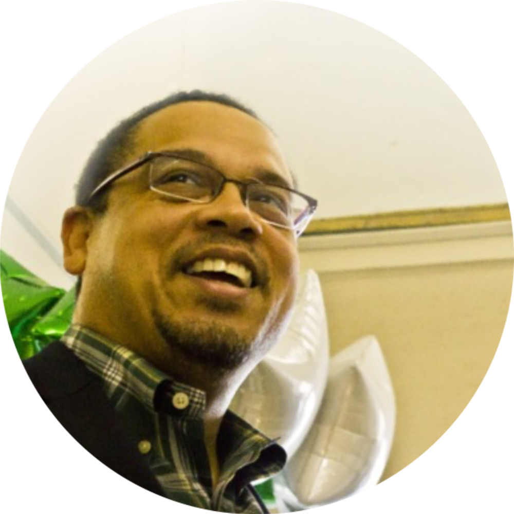 Keith Ellison   Board Member, Congressional Progressive Caucus Center