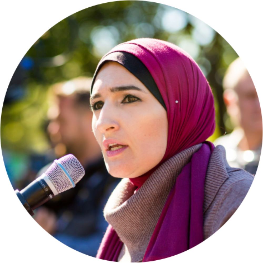 Linda Sarsour   Assistant Treasurer, Women's March