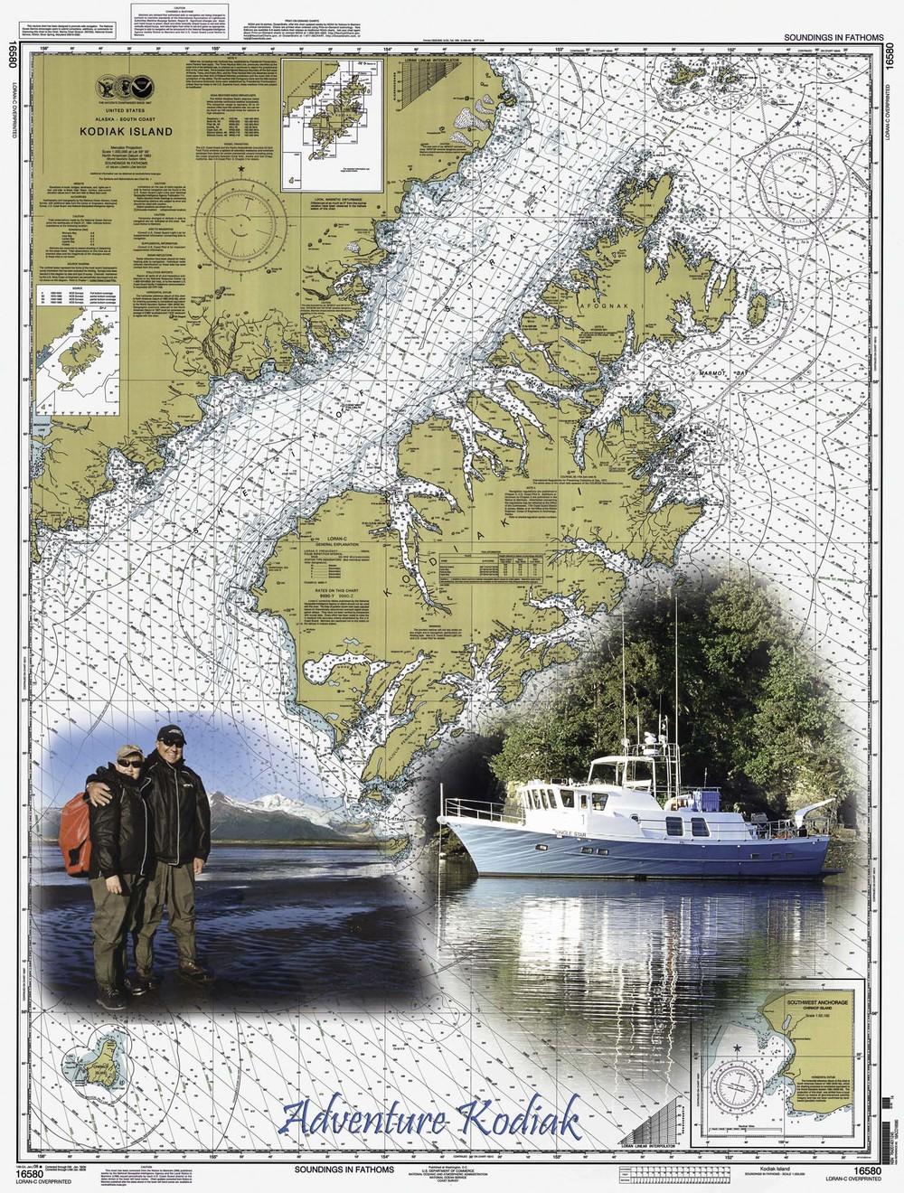 Adventure Kodiak Chart