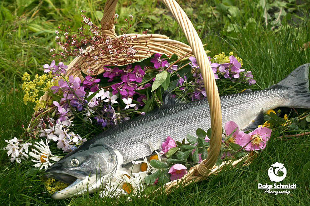 Fish & Flowers for Mom