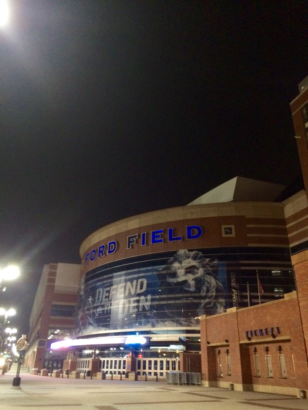 Ford field lions stadium