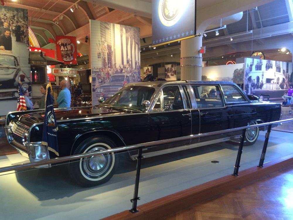 JFK's car