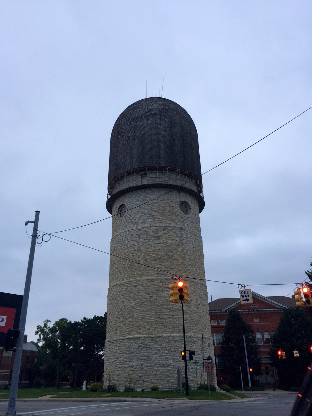 Ypsilanti water tower