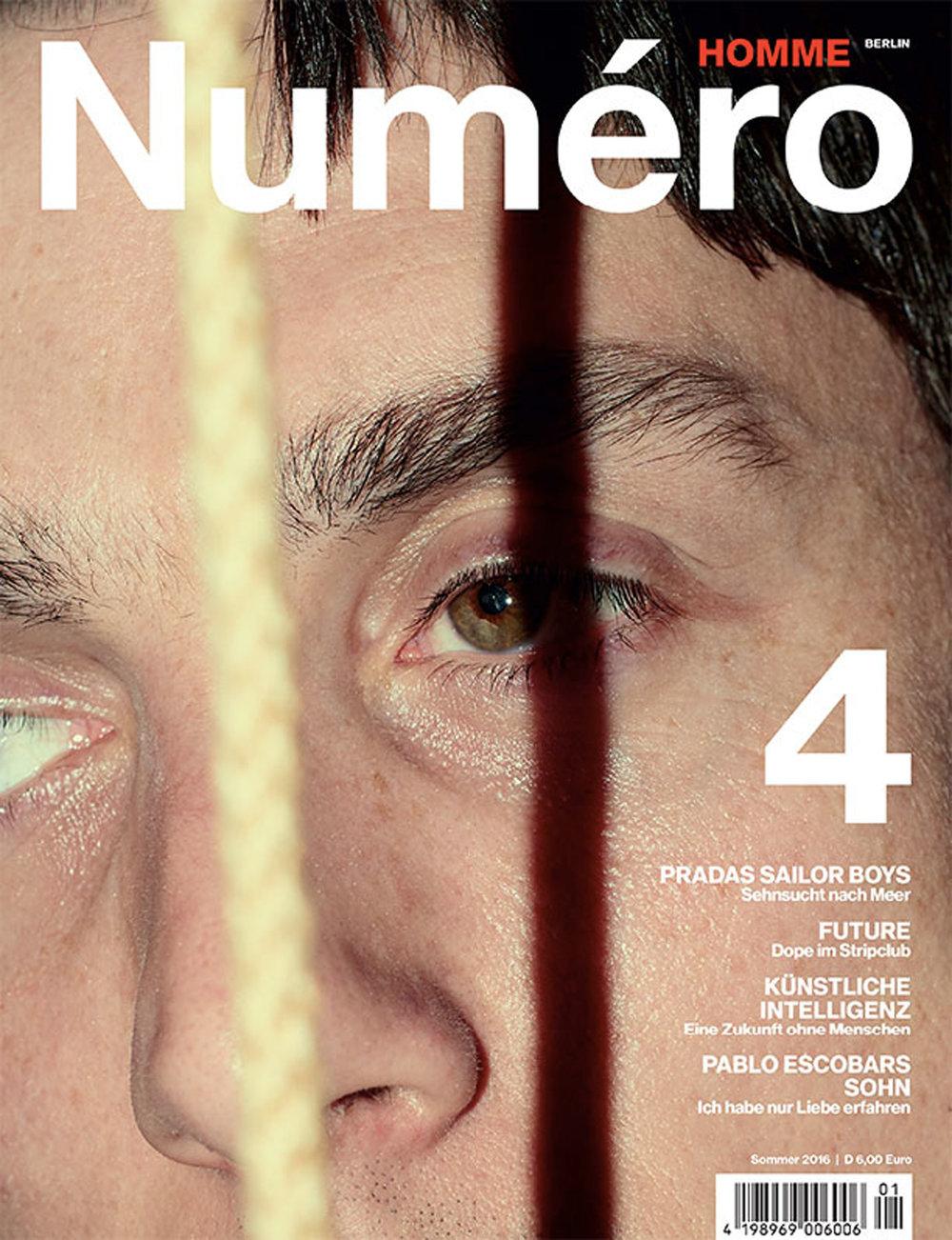 NUMERO HOMME - MEL BLES