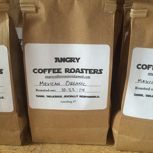 Last day of our harvest sale! We just got a new batch of angry coffee roasters coffee in! $8.00/bag