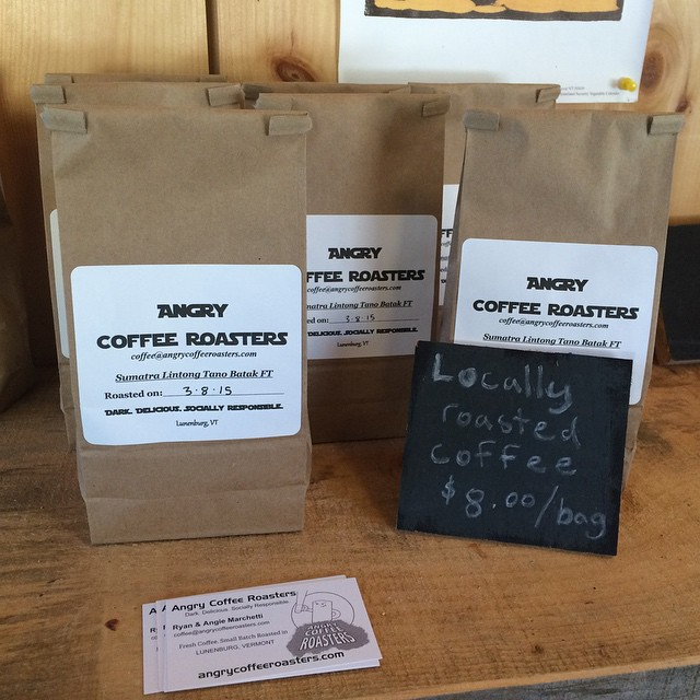 Fresh batch of coffee available at the farm! #Meadowstone farm www.meadowstonenh.com