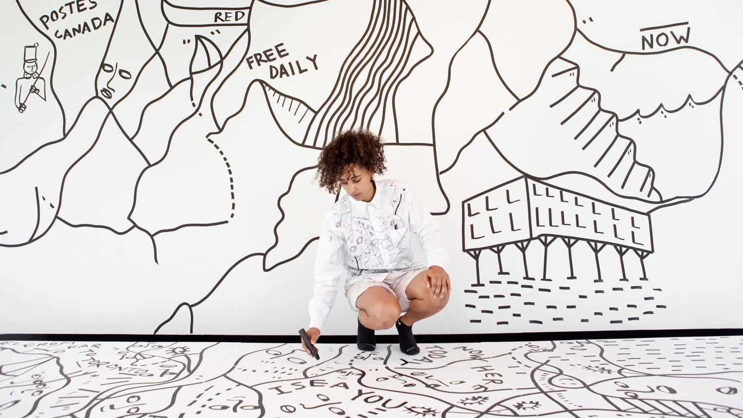 The Business of Art: An Interview With Shantell Martin