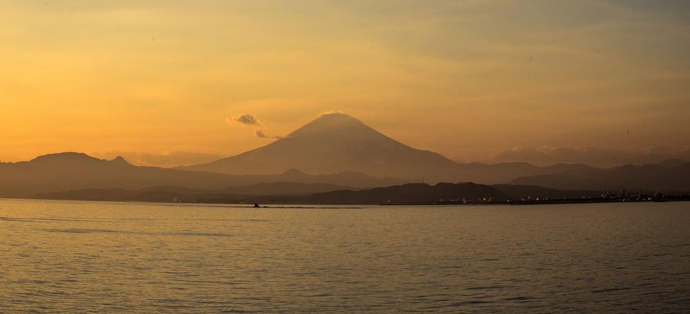 From Enoshima to Fuji