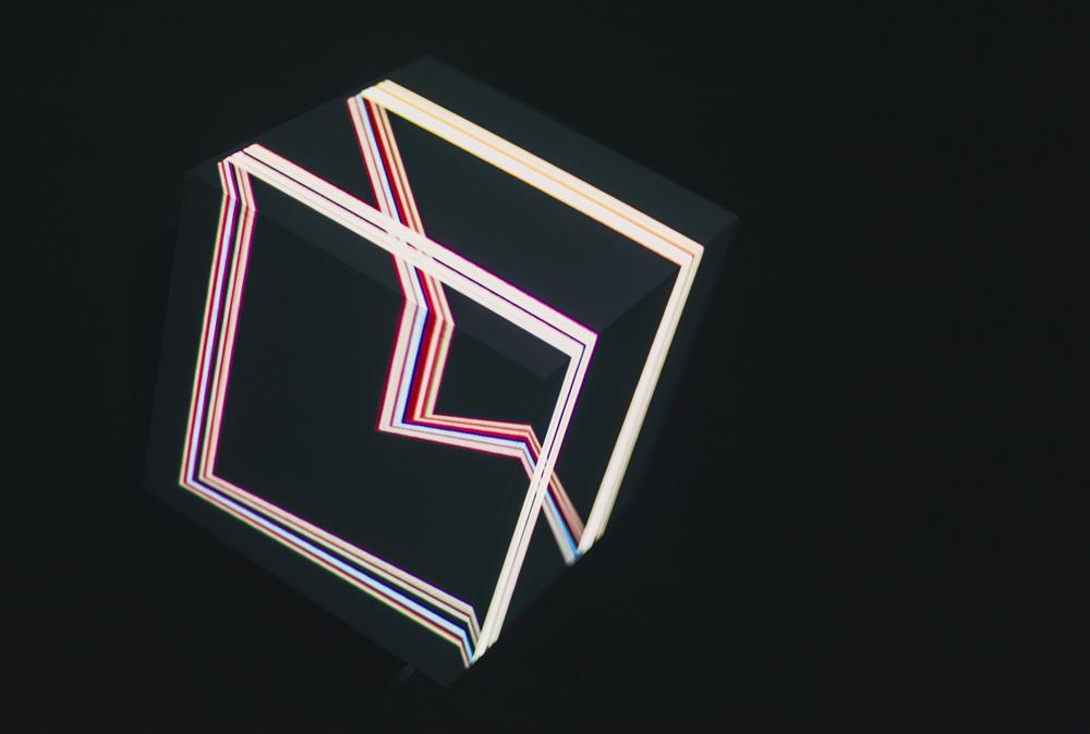 正方形の電気