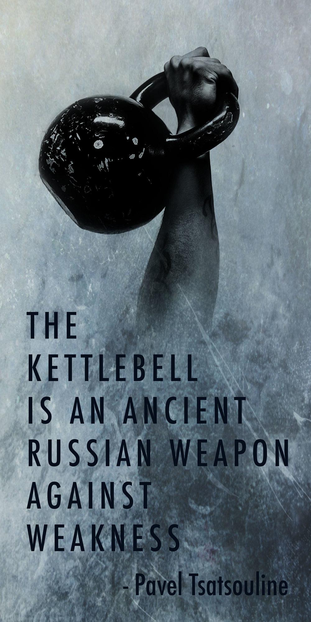 The Kettlebell