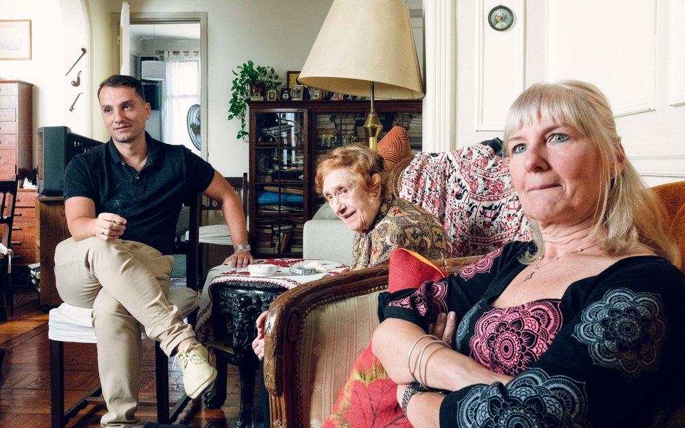 La familia de Montenegro. Llegó a Argentina por diferentes razones en diferentes momentos.