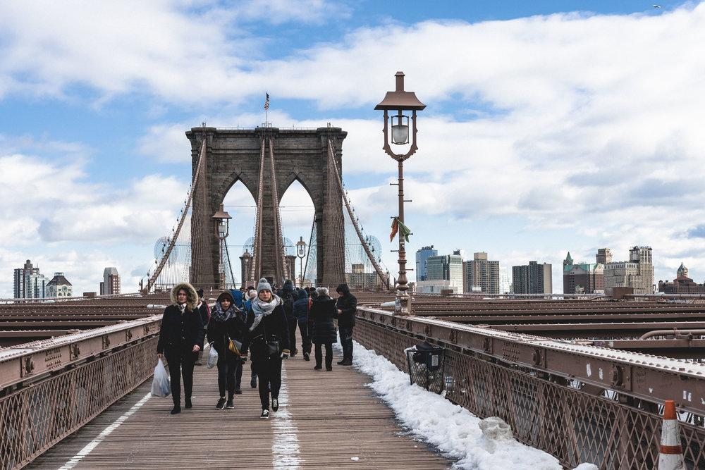 From Manhattan to Brooklyn via Brooklyn