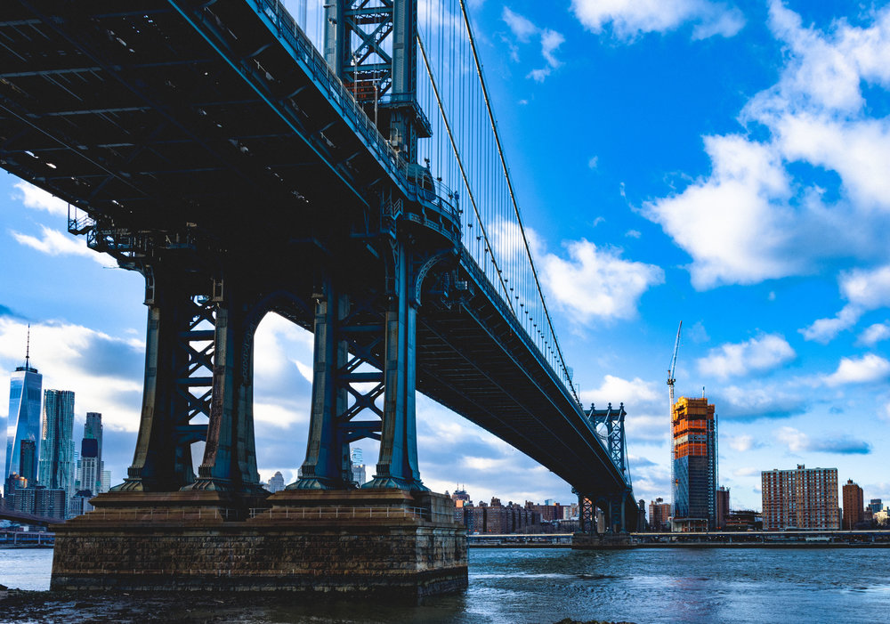 Manhattan stands on four
