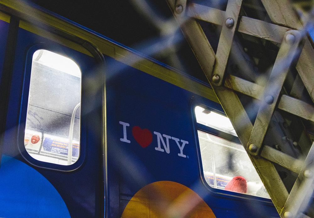 I ♡ the New York subway
