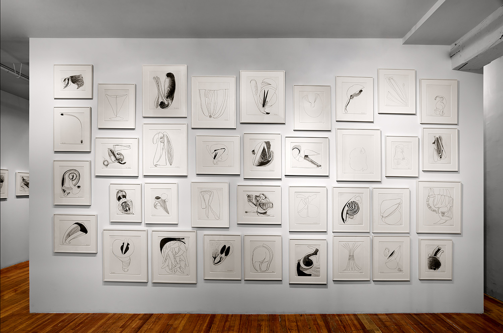 Brian Wood <br> Installation view of exhibition at Jeannie Freilich Contemporary, NYC