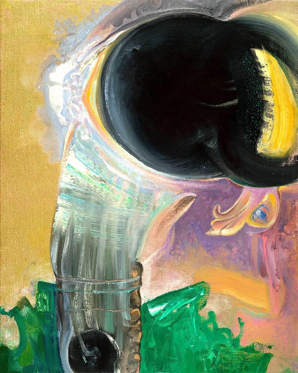 Brian Wood <br> Fravartis, 2015 <br> Oil on linen <br> 20 x 16 in.